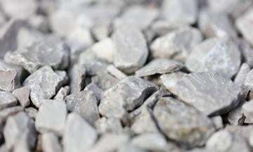 Recycled crushed stone